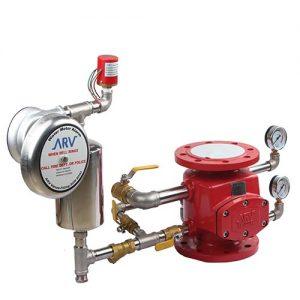 Van báo động ARV Malaysia, Alarm valve, Nguyên lý hoạt động